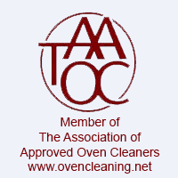 approved oven cleaners logo